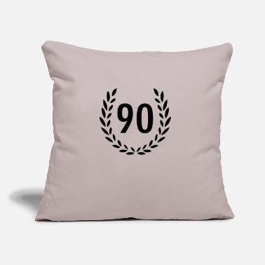 "90 90 - Throw Pillow Cover 18"" x 18"""