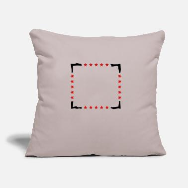 "Frame Frame - Throw Pillow Cover 18"" x 18"""
