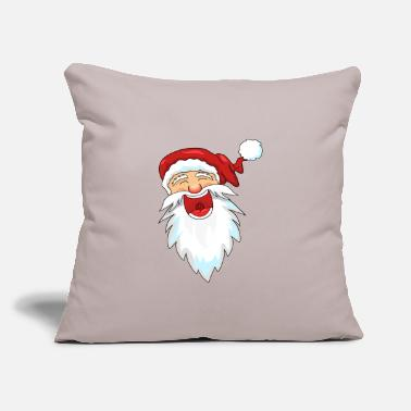 Santa Claus Laughing Santa Claus / Santa Claus - Throw Pillow Cover