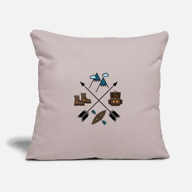 "Wilderness Wilderness - Throw Pillow Cover 18"" x 18"""