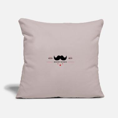 "Honeymoon honeymoon - Throw Pillow Cover 18"" x 18"""