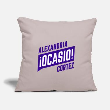 "Alexandria Ocasio Cortez Alexandria Ocasio Cortez - Throw Pillow Cover 18"" x 18"""