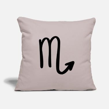 "Scorpio scorpio - Throw Pillow Cover 18"" x 18"""