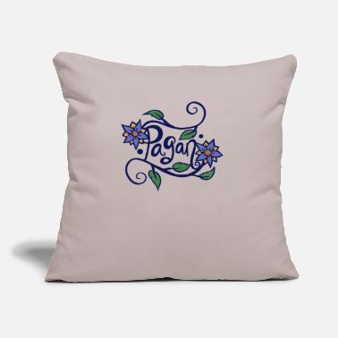 "Paganism Pagan - Throw Pillow Cover 18"" x 18"""