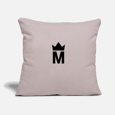 "Majesty Simple Majesty Logo - Throw Pillow Cover 18"" x 18"""