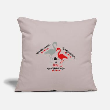 "Mr And Mrs Mr and Mrs - Throw Pillow Cover 18"" x 18"""