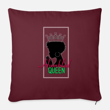 "HumbledQueen - Throw Pillow Cover 18"" x 18"""