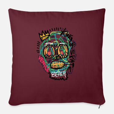 "Venice Beach Venice beach - Throw Pillow Cover 18"" x 18"""
