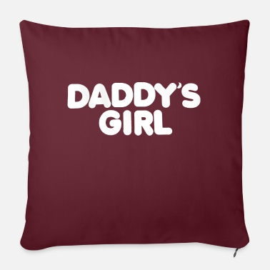 "Daddy's Girl Daddy's Girl - Throw Pillow Cover 18"" x 18"""