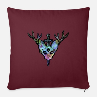 "Mesir Tripping Pastel Character - Throw Pillow Cover 18"" x 18"""