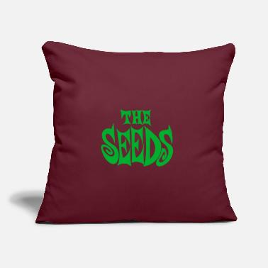 "the seeds band logo - Throw Pillow Cover 18"" x 18"""