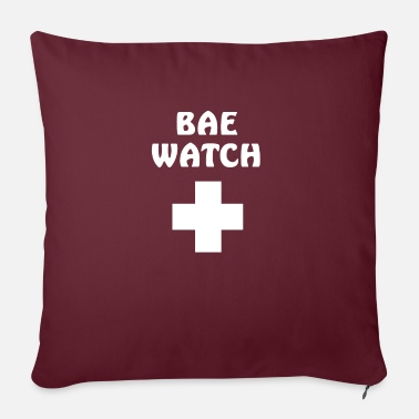 "Rescue Services Bae watch rescue service - Throw Pillow Cover 18"" x 18"""