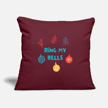 "Ring my bells - Throw Pillow Cover 18"" x 18"""