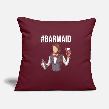 "Liquor Bartender Gifts for Barkeepers and Mixologists - Throw Pillow Cover 18"" x 18"""