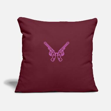 "Revolver Revolver - Throw Pillow Cover 18"" x 18"""