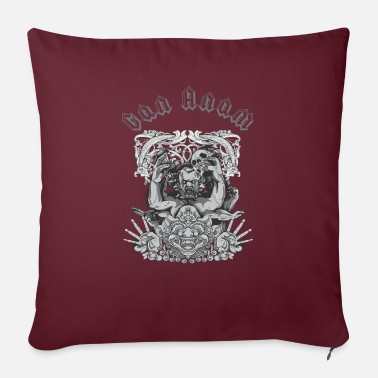 "Hardstyle Gan Anam Pay Homage - Throw Pillow Cover 18"" x 18"""