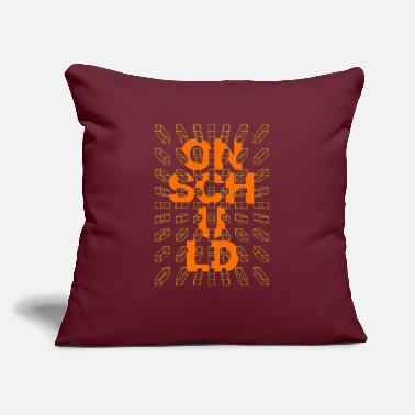 "Online Lettering and creativity arts text quotes - Throw Pillow Cover 18"" x 18"""
