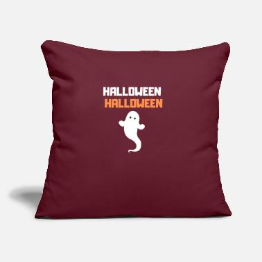 "Halloween Halloween Halloween Halloween - Throw Pillow Cover 18"" x 18"""