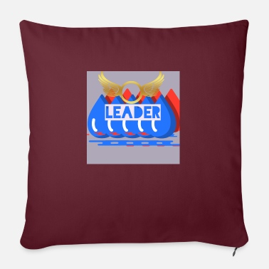 "Leader leader - Throw Pillow Cover 18"" x 18"""