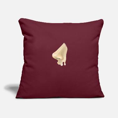 "Nose (nose) - Throw Pillow Cover 18"" x 18"""