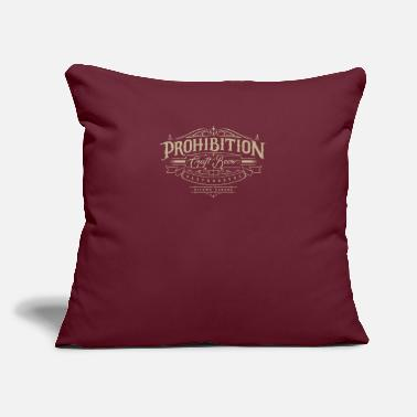 "Prohibition Prohibition gastrohouse - Throw Pillow Cover 18"" x 18"""