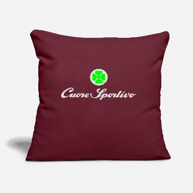 "Cuore cuore sportivo - Throw Pillow Cover 18"" x 18"""