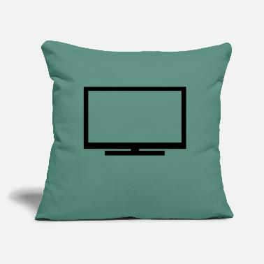 "Television Television - Throw Pillow Cover 18"" x 18"""