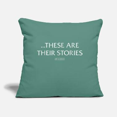 "Svu Law Order SVU These Are Their Stories Comfortable - Throw Pillow Cover 18"" x 18"""