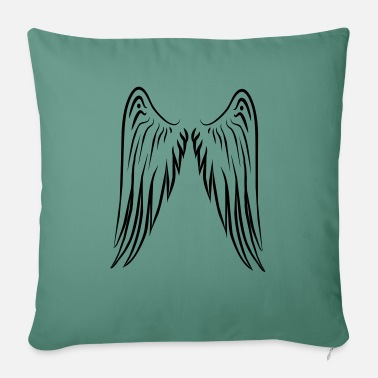 "Angelwings Angelwings / Wings - Throw Pillow Cover 18"" x 18"""