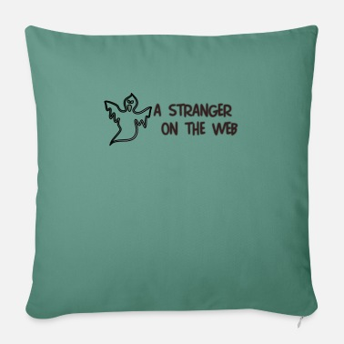 "strangerA - Throw Pillow Cover 18"" x 18"""