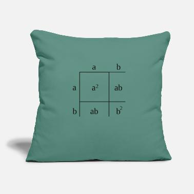 "Factor Trinomial Factorization - Throw Pillow Cover 18"" x 18"""