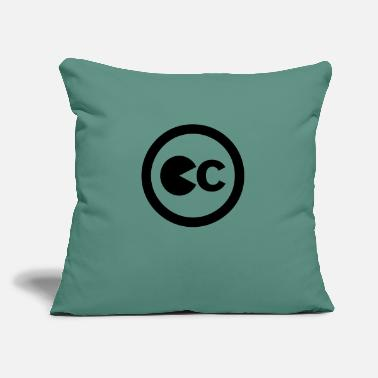 "Pc (PC) - Throw Pillow Cover 18"" x 18"""