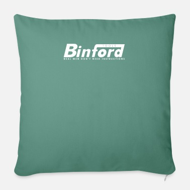 "Binford Tools Binford Tools T Shirt Funny Home Improvement Tool - Throw Pillow Cover 18"" x 18"""