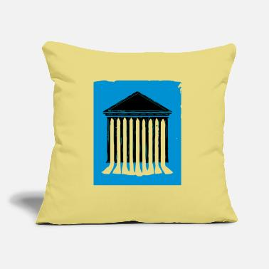 "Court court - Throw Pillow Cover 18"" x 18"""