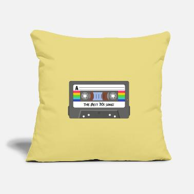 "The death of the cassette tape - Throw Pillow Cover 18"" x 18"""