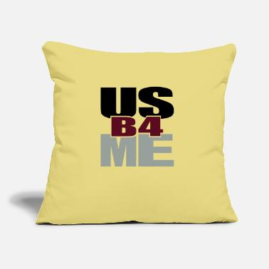 "Tlc Us Before Me - Throw Pillow Cover 18"" x 18"""