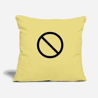 "Prohibition prohibition - Throw Pillow Cover 18"" x 18"""