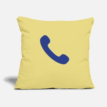 "Phone phone - Throw Pillow Cover 18"" x 18"""