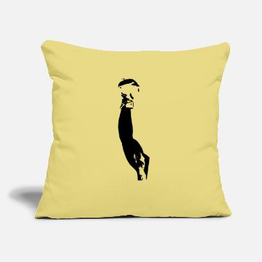 "Champ champ - Throw Pillow Cover 18"" x 18"""