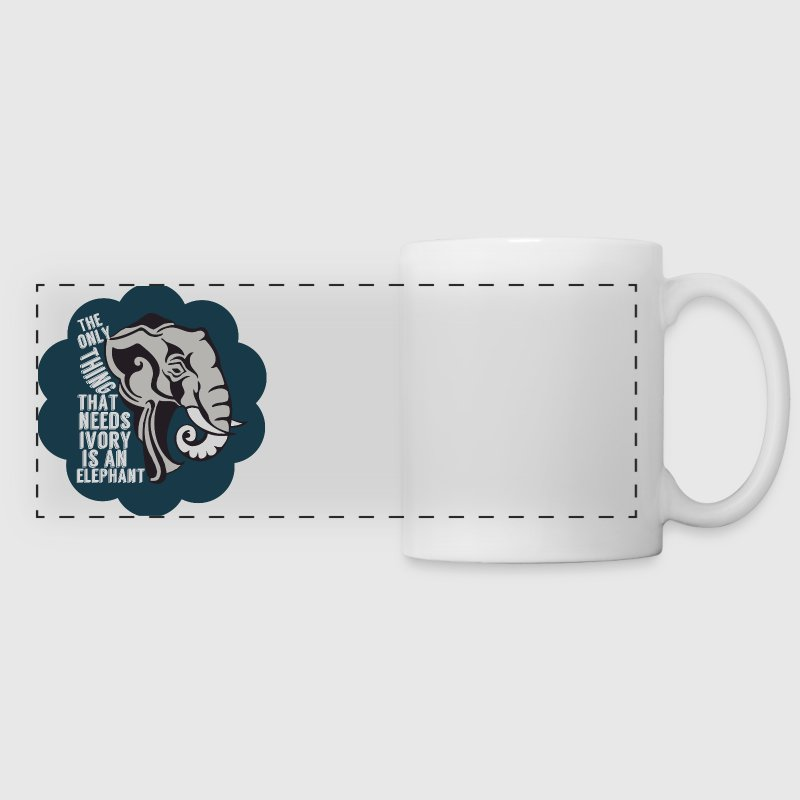 Elephant Anti Poaching - Panoramic Mug