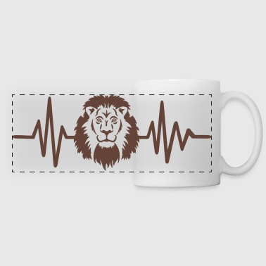 Lion - Panoramic Mug