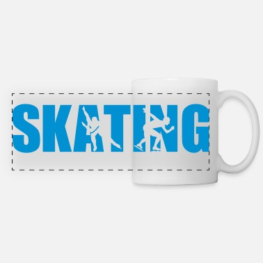 Skate Skating - Panoramic Mug