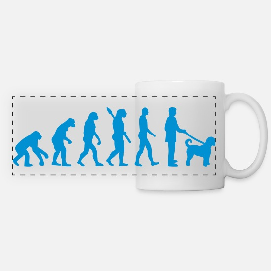 Labradoodles Mugs & Drinkware - Labradoodle - Panoramic Mug white