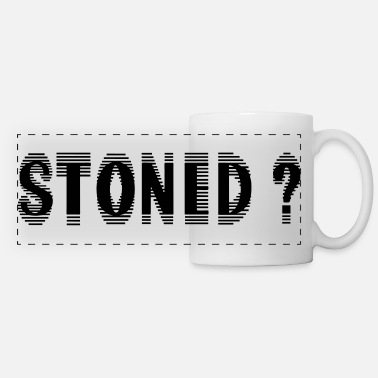 Stone Stoned ? - Panoramic Mug