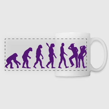 Line dance - Panoramic Mug