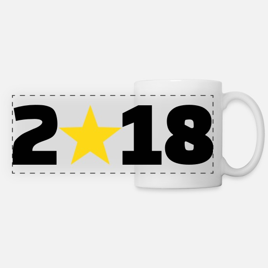 2018 Mugs & Drinkware - 2018 - Panoramic Mug white