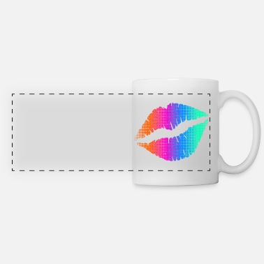 A Kiss KISS - Panoramic Mug