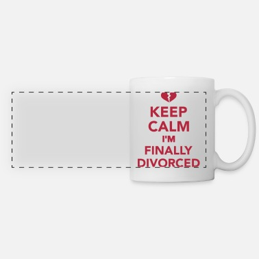 Divorced Divorce - Panoramic Mug