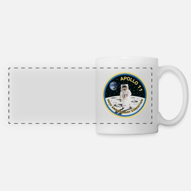 Moon Astronaut Moon Landing 50th - Panoramic Mug