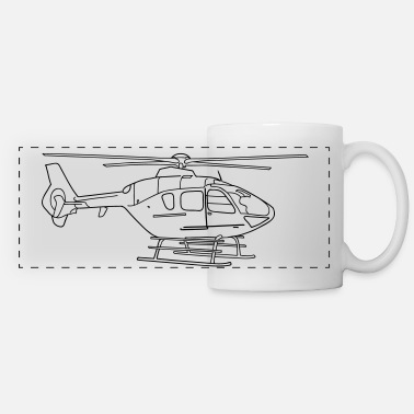 Helicopter Helicopter - Panoramic Mug